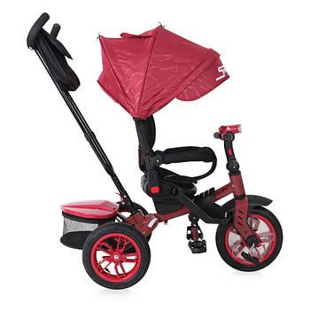 Трехколесный велосипед с родительской ручкой Lorelli Speedy Красно-черный (10050432006)