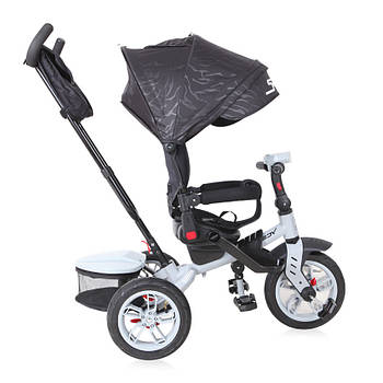 Трехколесный велосипед с родительской ручкой Lorelli Speedy Черный (10050432005)