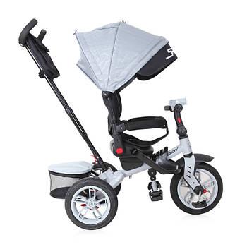 Трехколесный велосипед с родительской ручкой Lorelli Speedy Серый (10050432007)