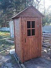 """""""Эпатаж"""" - туалет из натурального дерева для дачи"""