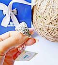 Мужской перстень в серебре с золотом и цирконом Лео, фото 3