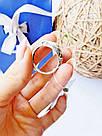 Мужской перстень в серебре с золотом и цирконом Лео, фото 4