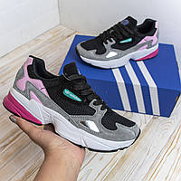 Adidas Falcon разноцветные адидас кроссовки женские кеды кросовки жіночі