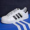 Adidas SuperStar белые кроссовки кеды женские адидас суперстар - Фото