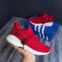 Adidas Alphabounce красные адидас кроссовки кросовки кеды женские