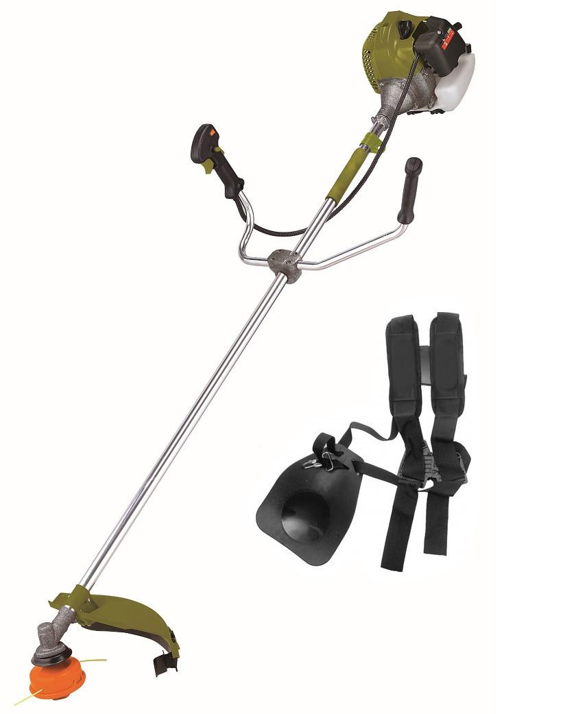 Бензокоса Белтех БГ-5200 2 насадки + ремень-рюкзак. Мотокоса Белтех