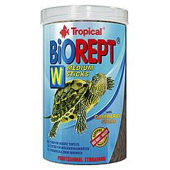Сухой корм для водоплавающих черепах Tropical в палочках «Biorept W» 1 л