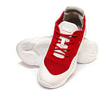Кроссовки ROOBA MH137126(36-40)красные, фото 2