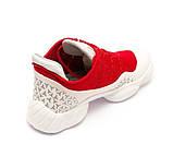 Кроссовки ROOBA MH137126(36-40)красные, фото 4