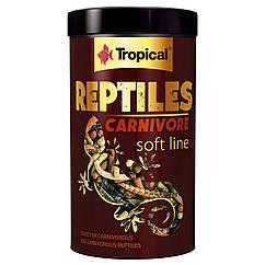 Многокомпонентный корм для плотоядных рептилий Tropical «Reptiles Carnivore» 250 мл
