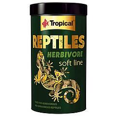 Многокомпонентный корм для растительноядных рептилий Tropical «Reptiles Herbivore» 250 мл