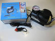 Воздушный компрессор Air Compressor 300pi DC-12V PSI в авто портативный насос многофункциональный, фото 2