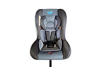 Детское автомобильное кресло ТМ LINDO Серый НВ 905 HB 905 сірий, КОД: 1718402