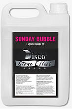 Жидкость для пузырей Disco Effect D-SB Sunday Bubble
