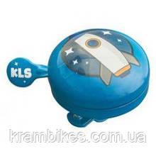 Звонок на руль KLS - Bell 60 Kids Синий