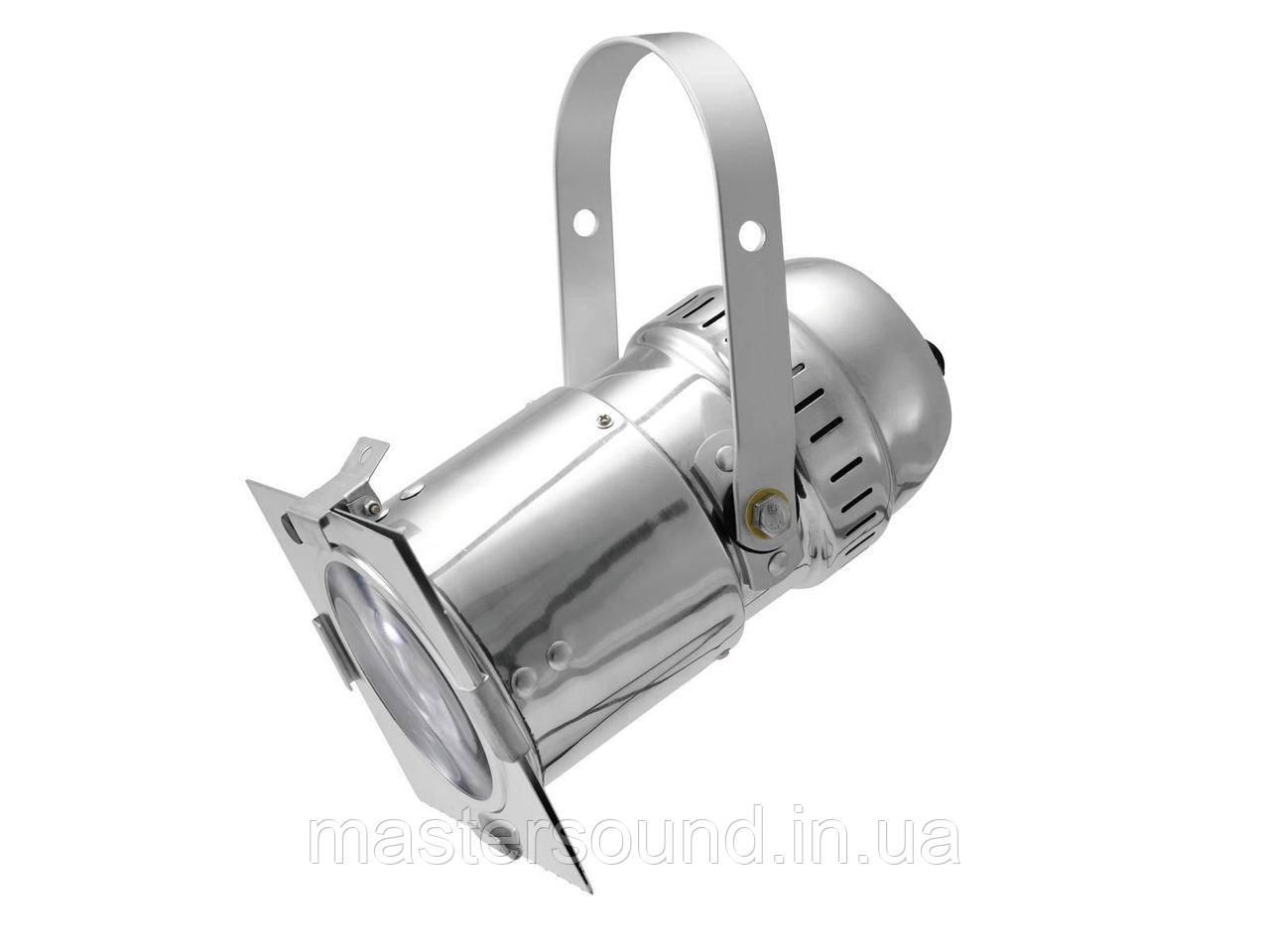 Светодиодный прожектор Eurolite LED PAR-30 COB RGB 30W silver