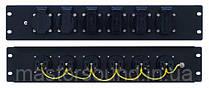 Cиловая распределительная панель Eurolite PDM 2U-6S 16A