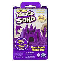 Набор для творчества KINETIC SAND Кинетический песок Neon (Фиолетовый) (71423P)
