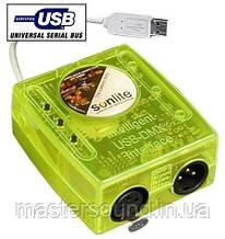 Usb dmx контроллер New Light NL-8034 SUNLITE