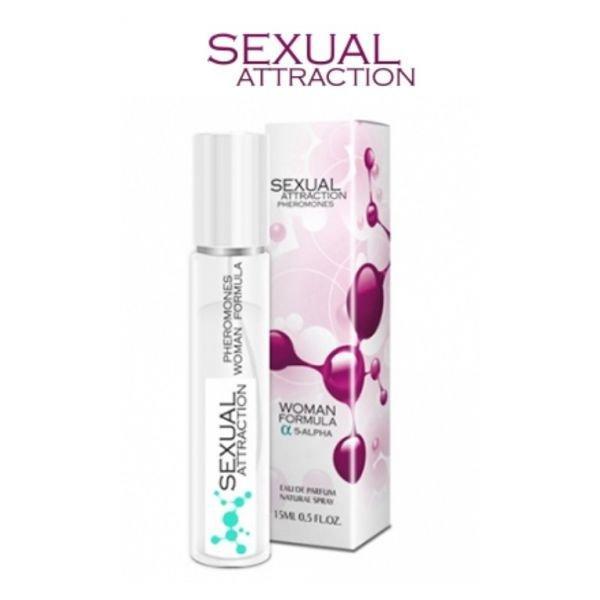 Феромони сексуального потягу Sexual Attraction Pheromones woman - 15ml