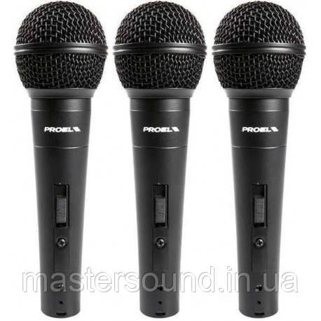 Комплект микрофонов Proel DM800KIT