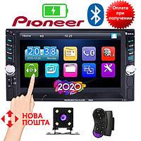 Автомагнитола 2Din Pioneer 7651D 6.6' экран, USB,SD, Video + ПУЛЬТ НА РУЛЬ+КАМЕРА, фото 1