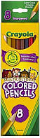 Crayola Multicultural Colored Pencils, 8. Разноцветные карандаши крайола 8шт