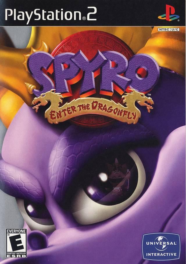 Игра для игровой консоли PlayStation 2, Spyro: Enter the Dragonfly