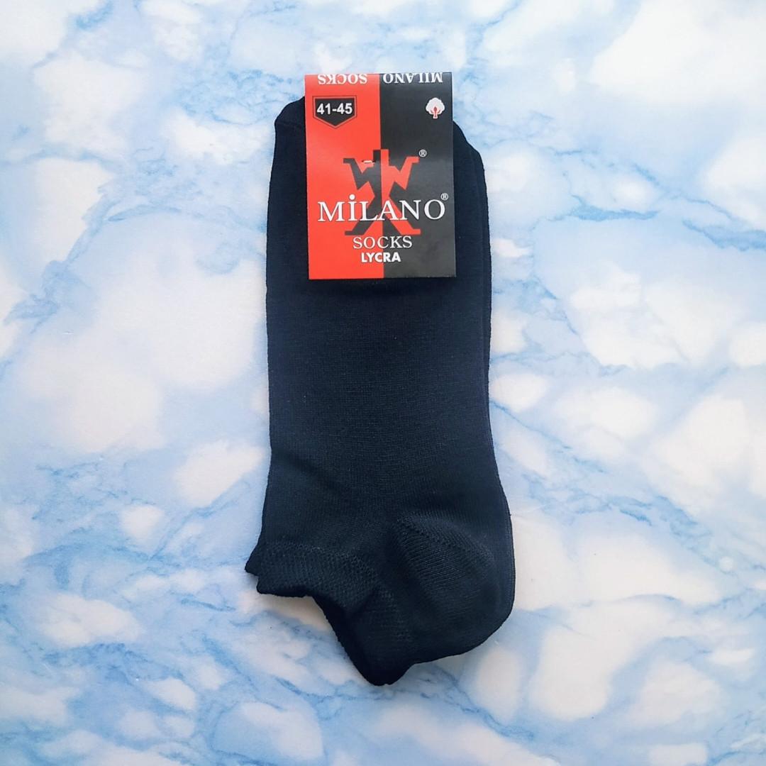 Короткие мужские хлопковые носки размер 41-45