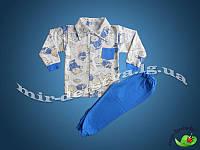 Пижама для мальчика начес р.104-116 Арт.302