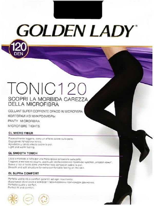 Golden Lady Tonic 120 Den суперплотные колготки из микрофибры, все размеры, все цвета