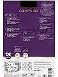 Golden Lady Tonic 120 Den суперплотные колготки из микрофибры, все размеры, все цвета, фото 2