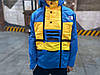Куртка Supreme x The North Face SteepTech blue-yellow