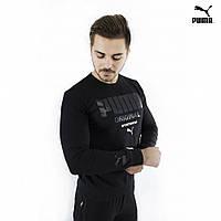 Мужской свитшот Puma Original черный, фото 1