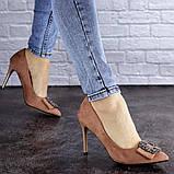 Женские туфли на каблуке Fashion April 1936 36 размер 23,5 см Розовый, фото 2