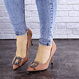 Женские туфли на каблуке Fashion April 1936 36 размер 23,5 см Розовый, фото 5
