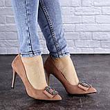 Женские туфли на каблуке Fashion April 1936 36 размер 23,5 см Розовый, фото 8