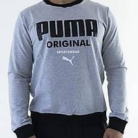 Мужской свитшот Puma серый, фото 1