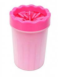 Лапомойка для собак Soft Gentle 15 см Pink