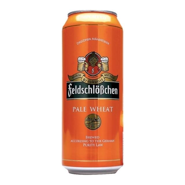 Пиво Feldschlösschen Pale Wheat ж/б 0,5 л