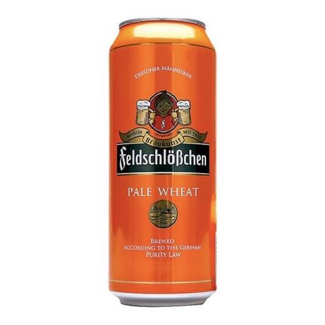 Пиво Feldschlösschen Pale Wheat ж/б 0,5 л, фото 2