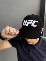 Тракер кепка UFC черный Большой логотип, фото 1