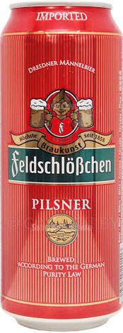 Пиво FeldschloBchen Pilsner ж/б 0,5л, фото 2
