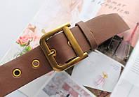 Женский ремень Dior экокожа коричневый, фото 1