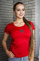 Женская футболка Puma Ferrari красная