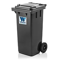 Контейнер для мусора  Weber 120 литров Чёрный