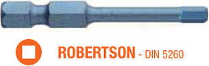 Насадка отверточная ударная BLUE SHOCK USH TORSION ROBERTSON R2 x 50 мм 5 шт