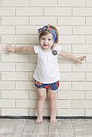 Детский костюм летний для девочки