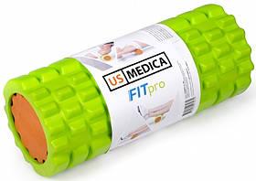 Спортивный валик US Medica Fit PRO (США) для фитнеса и массажа