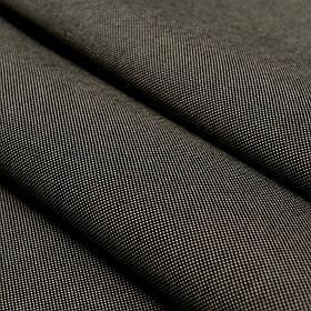 Ткань для уличной мебели Дралон Панама (Panama) Черно-бежевый